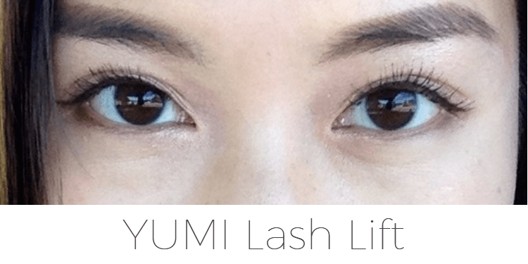 8e7d011bc12 A few days after my first YUMI Lashes lash lift with mascara.